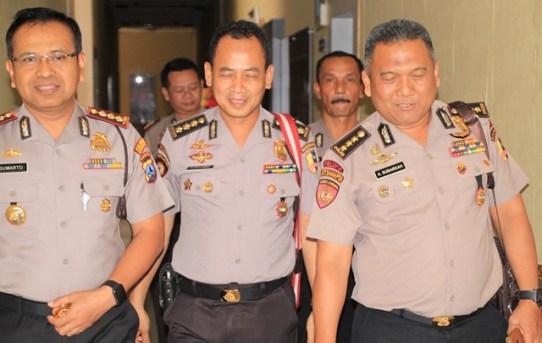 Polresta Banjarmasin Sambut Kedatangan Tim Dit Samapta Korps Sabhara Baharkam Polri