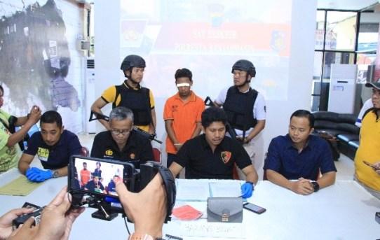 Kasat Reskrim Lakukan Konferensi Pers  Ungkap 4 ( Empat ) Kasus di Wilayah Hukum Polresta Banjarmasin