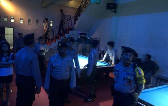 Tahap Masa kampanye Pemilu , Polresta Banjarmasin Gelar Operasi Cipkon