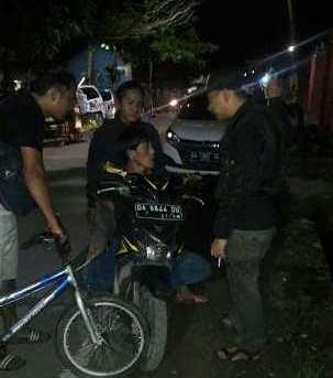 Pelaku Spesialis Pencuri sepeda Disergap Buser Utara