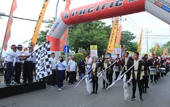 Polresta Banjarmasin Semarakkan Gebyar Millennial Road Safety Festival 2019