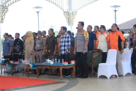 Kabag Ops Polresta Banjarmasin Hadiri Pelantikan Ketua RAPI Banjarmasin