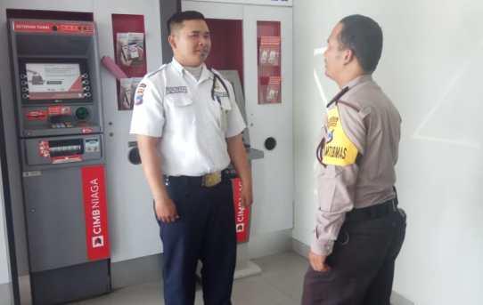 Polresta Patroli Perbankan Antisipasi Kriminalitas Jelang Hari Raya Idul Fitri  Serta Himbau Kamtibmas Satpam Perbankan