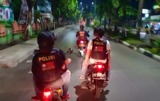 Antasipasi Kejahatan dan Balapan Liar Jelang Hari Raya Idul Fitri,Personel Piket Polresta dan Jajaran, Tim Harat dan Sat lantas Giat Perventif ( Blue Light Patroli )