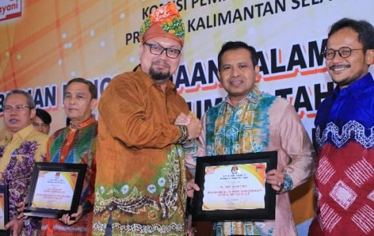 Polresta Banjarmasin terima penghargaan dari KPU berkat sukseskan Pemilu 2019