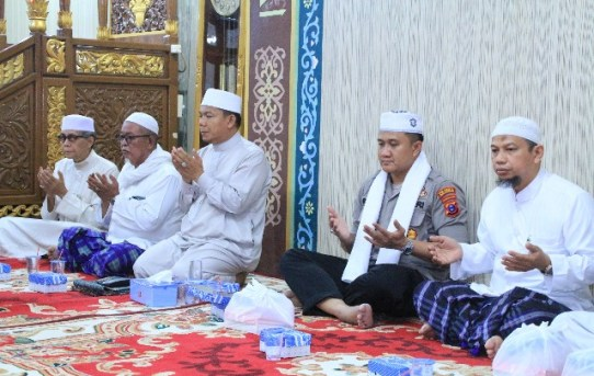 Waka Polresta Banjarmasin hadiri Maulid Nabi di Mesjid Baiturrahim