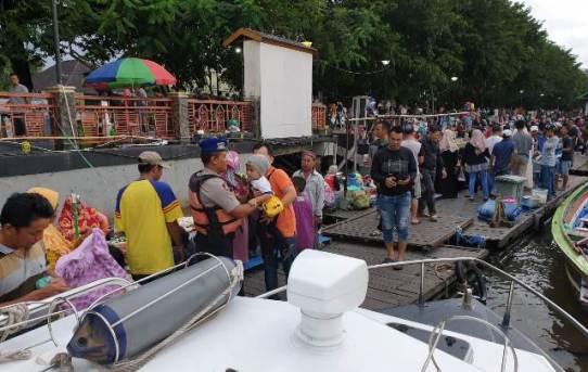 Jelang Weekend Polresta Banjarmasin Gelar Patroli Cipta Kondisi