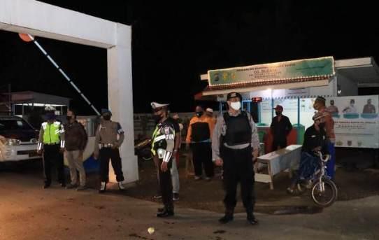 Patroli Cipta Kondisi dan Sambangi Kampung Tangguh