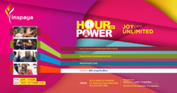 JOY UNLIMITED - (HOUR OF POWER PRAYER POINTS 4TH OCTOBER 2017
