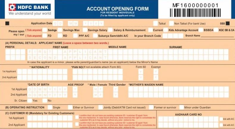 How To Apply For A Hdfc Credit Card - Resume Examples