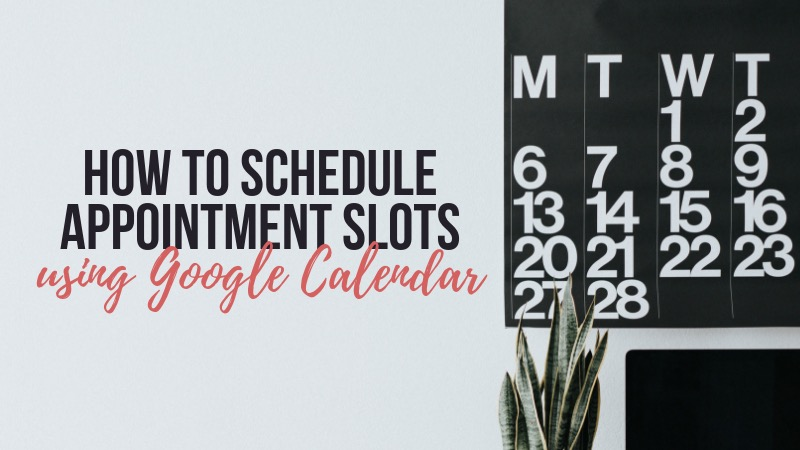 Appointment Slots Header