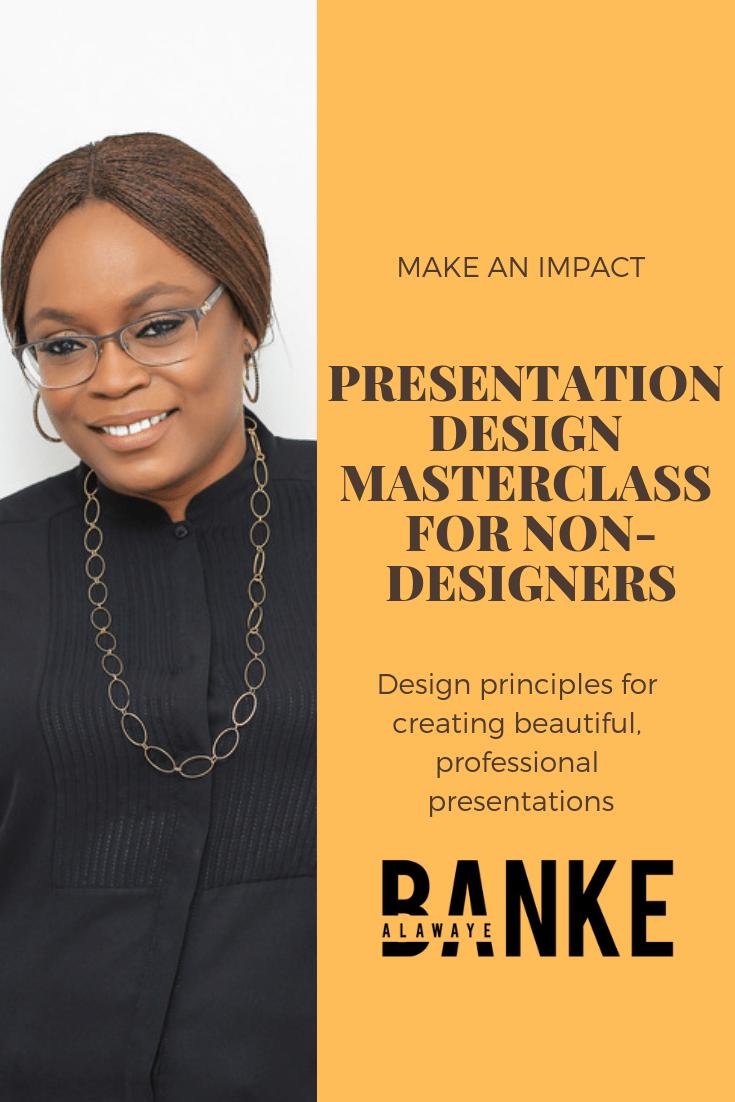 Presentation Design Masterclass for Non-Designers