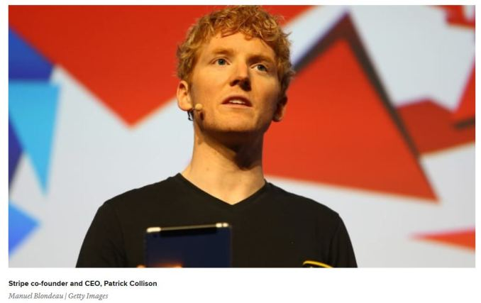 Stripe CEO