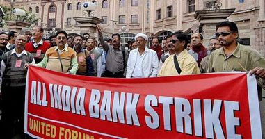 Bank Strike on 15th March 2018