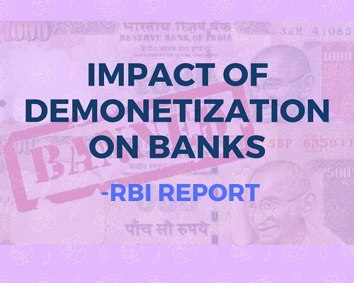 Impact of demonetization on banks
