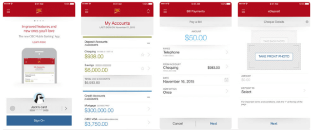 CIBC Mobile Banking app