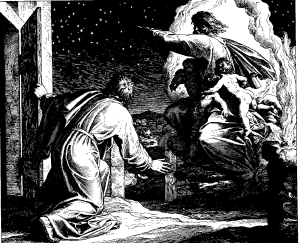 God blesses Abraham | wikipedia.org