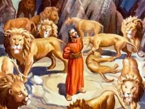 Safe among lions