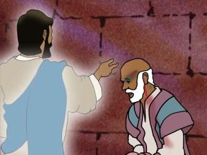 Jesus appears to Paul in Jerusalem jail