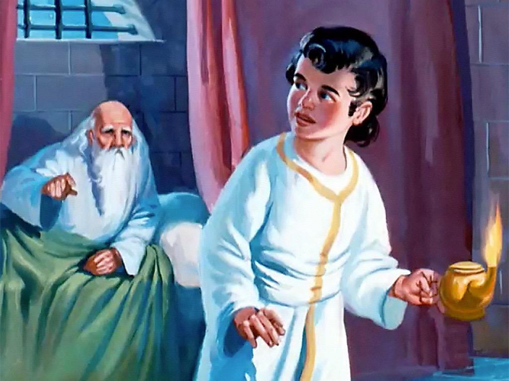 Messaging Child Through Parent Call Of Samuel Example