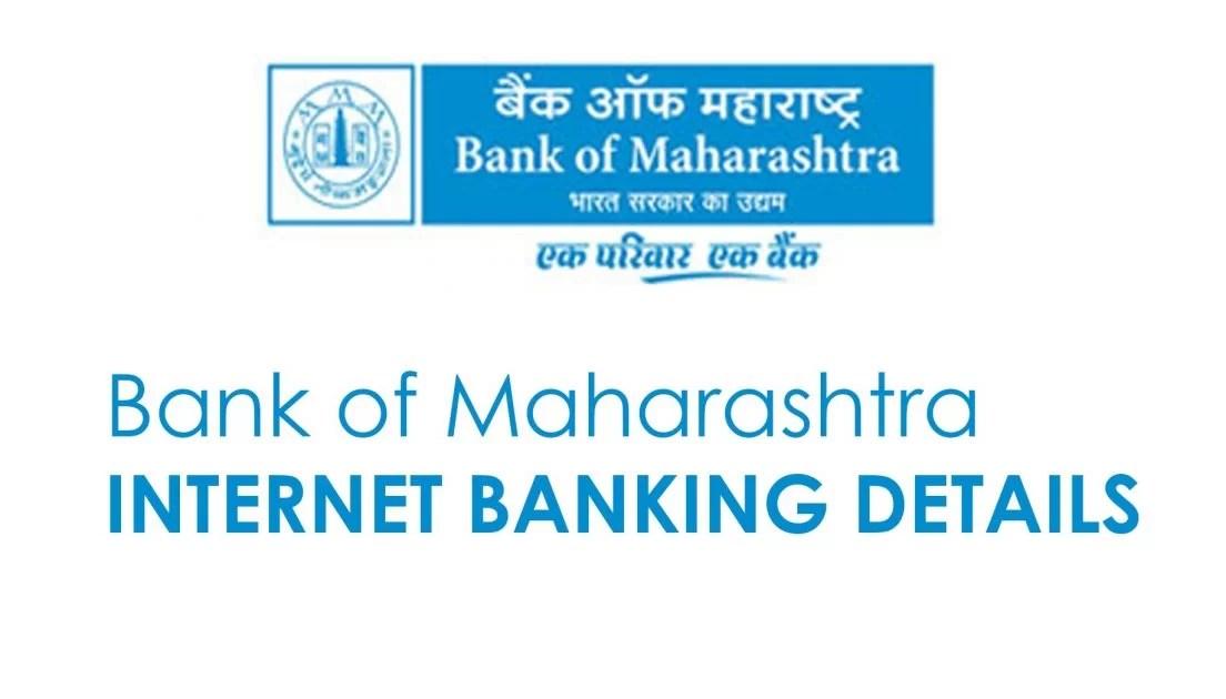 Bank Of Maharashtra Net Banking Full Details Banking Support