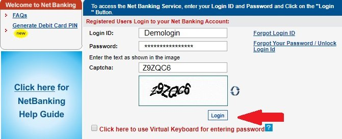 yes bank net banking login