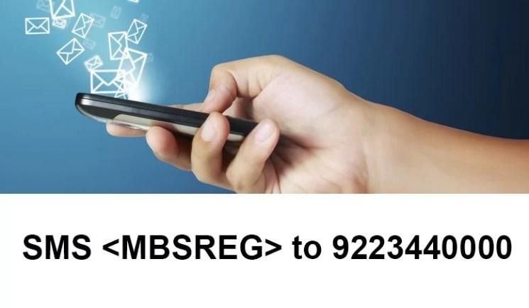 sbi sms banking registration