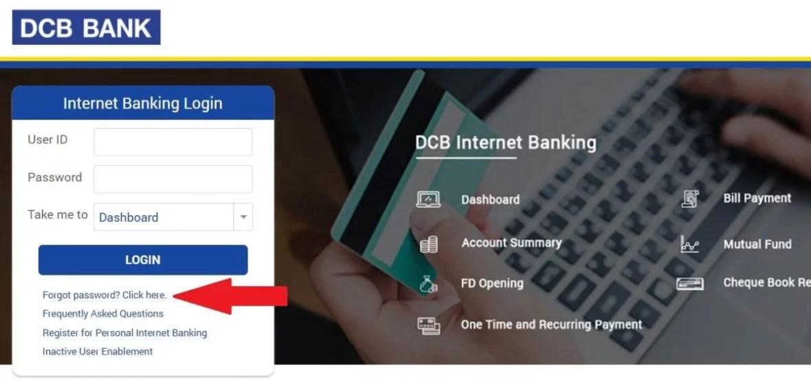 DCB Online Banking Login