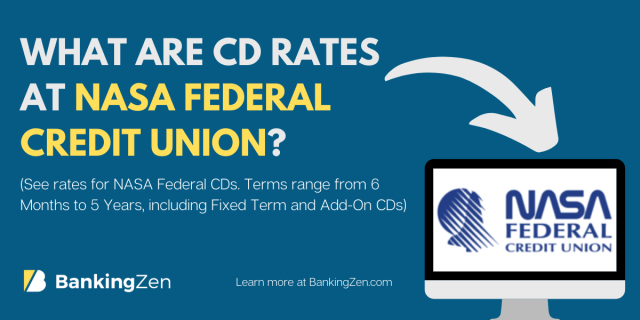 """What are CD rates at NASA Federal Credit Union for one year"""