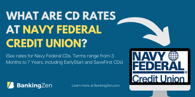 """""""What are CD rates at Navy Federal Credit Union for one year"""""""