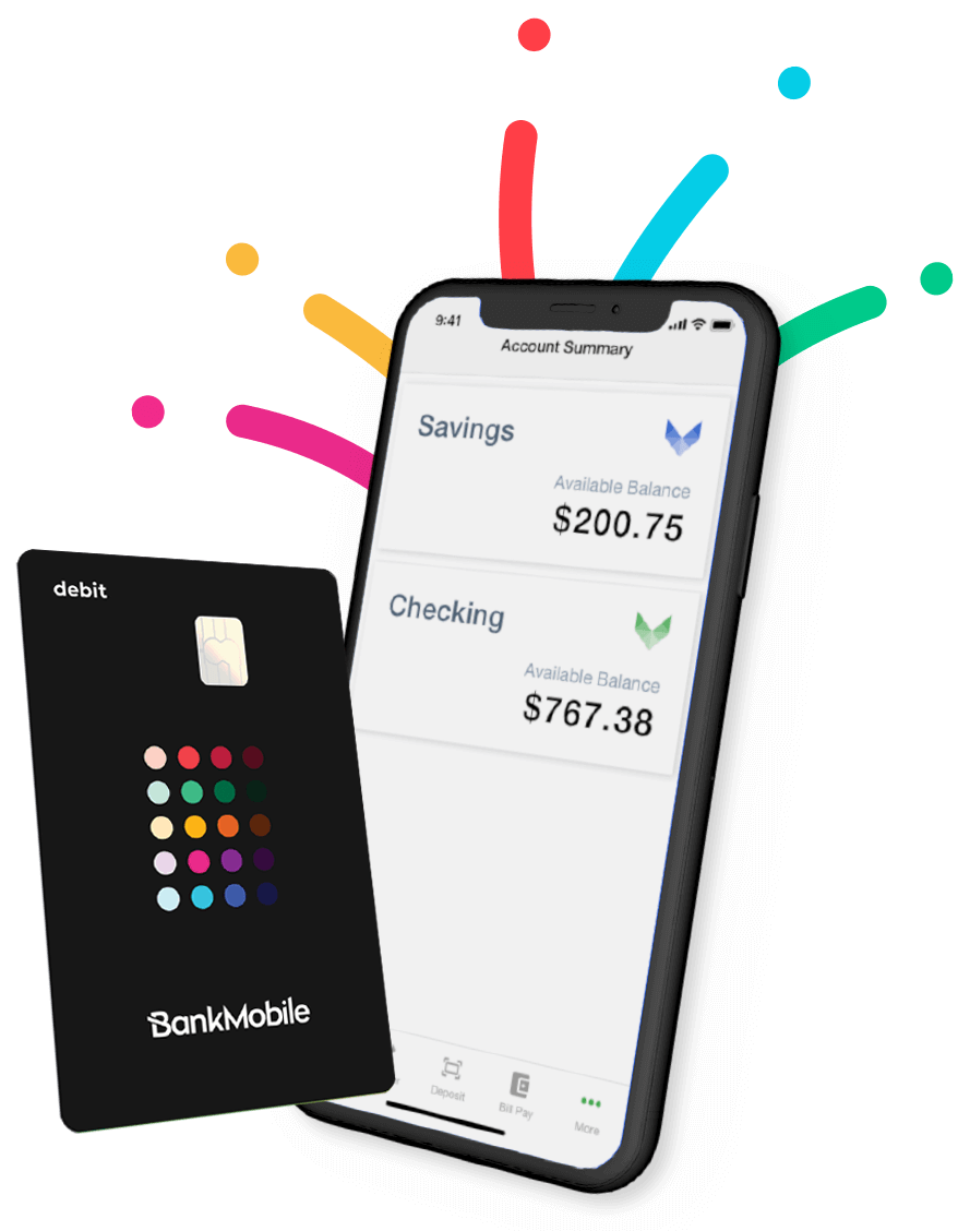 Student Checking Account Savings Account Bankmobile Vibe