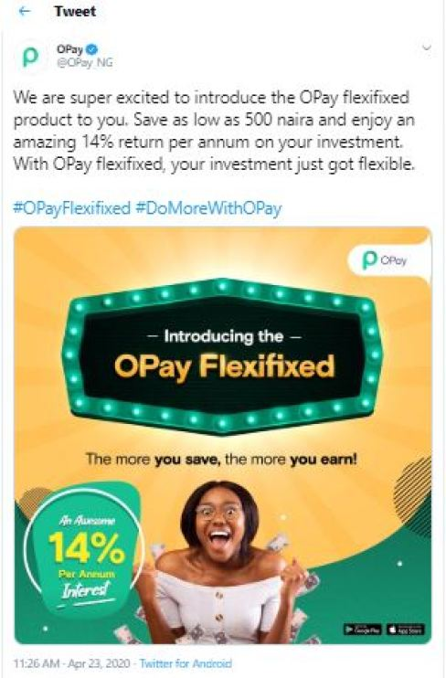 Opay Flexified