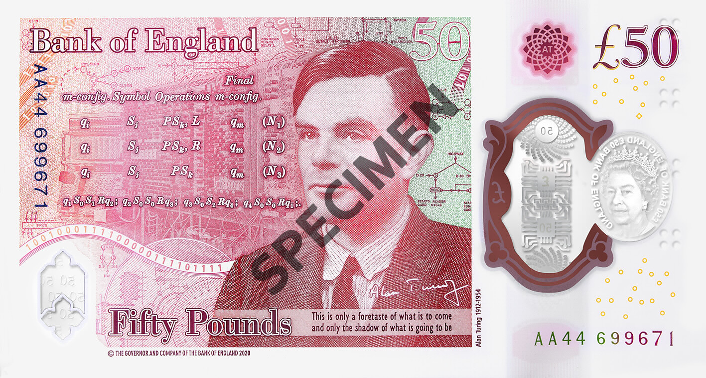 50*50 The New £50 Note | Bank Of England