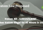 Kratom Illegal for Minors Under New Bill