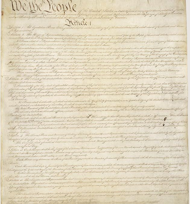 Happy Constitution Day !  Did you know the right to bankruptcy is enshrined in our US Constitution ?