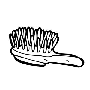 Banksia Park Puppies hair brush