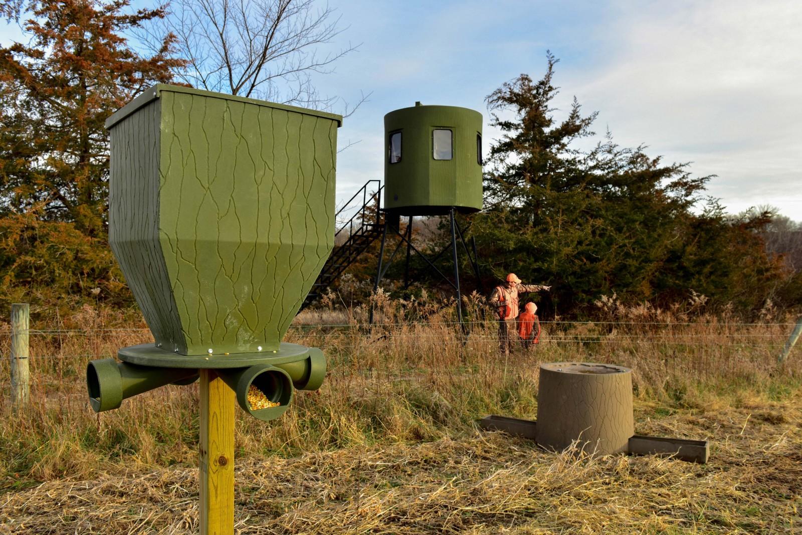 Banks Outdoors Hunting Blinds Deer Feeders Watering System