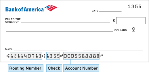 Check Number Routing Aba Fake