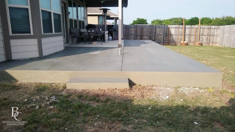 benefits of a concrete patio vs wood
