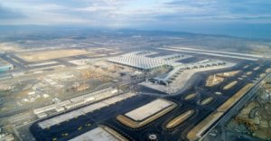 Turkey unveils world's largest airport in Istanbul