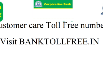 Corporation bank customer care number