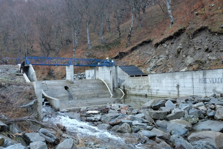 Vladici 1 hydropower plant, financed by Erste Bank