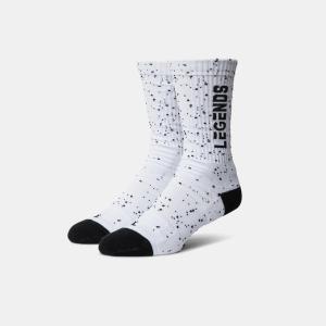 Legend Spotlight Athletic Socks (White) (Medium)