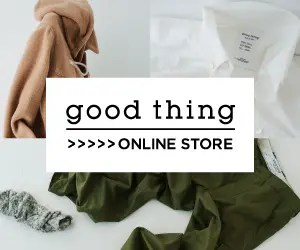 good thing ONLINE STORE good thing_300×250_1のバナーデザイン