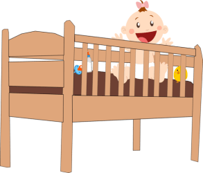 Baby Furniture Infant Bed Bed Clipart Baby Clipart People Clip art