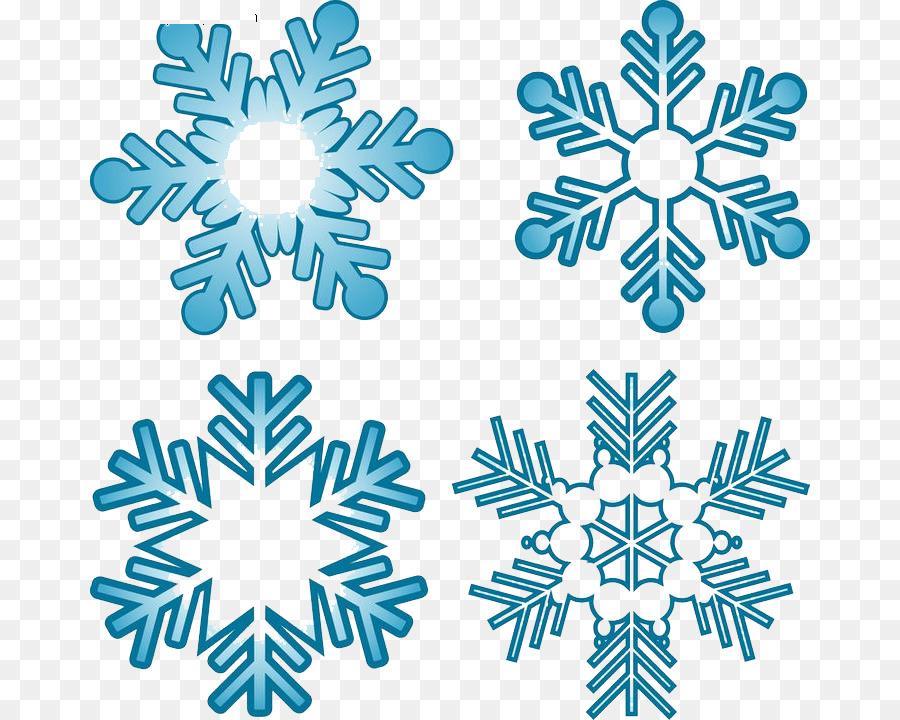 Clipart Schneeflocken Hintergrund Kostenlos