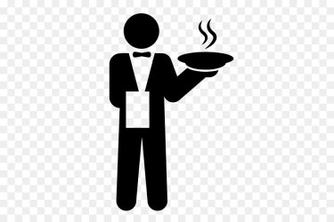 Party Silhouette png download 583*583 Free Transparent Waiter png Download CleanPNG / KissPNG