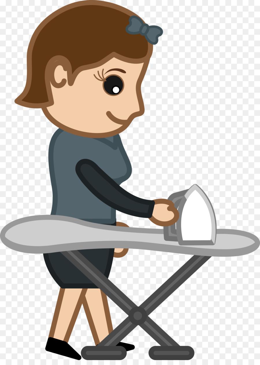 Gambar Setrika Kartun : gambar, setrika, kartun, Woman, Cartoon, Download, 3000*4144, Transparent, Clothes, Download., CleanPNG, KissPNG