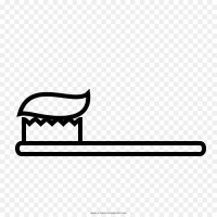 Ausmalbild Zahnpastatube