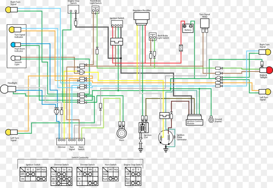 Electrical Wiring Honda Wave 100 Wiring Diagram